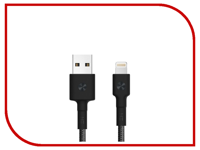Аксессуар Xiaomi ZMI AL803 USB - Lightning MFi 100cm Black usb programming cable for kenwood tk2107 tk3107 black 100cm