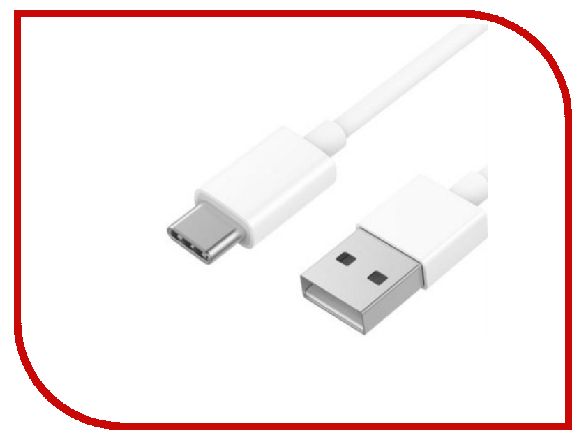 Аксессуар Xiaomi ZMI AL701 USB - Type-C 100cm White