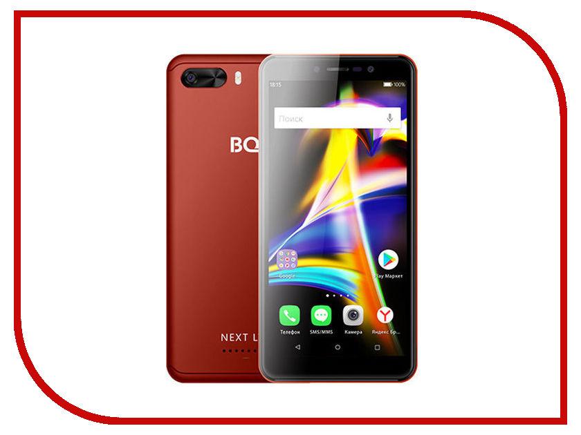 Сотовый телефон BQ 5508L Next LTE Red смартфон bq mobile bq 5508l next lte grey