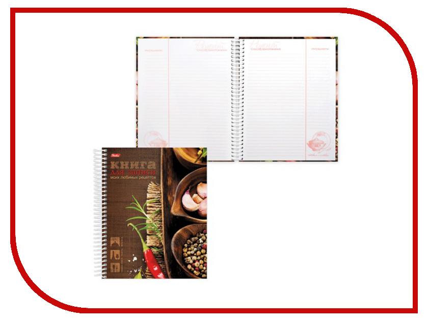 Ежедневник Hatber Любимые рецепты A5 80л 80ККт5Апс_12828 - для записи рецептов