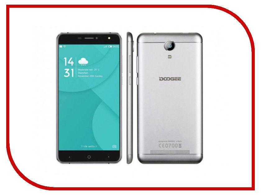 Сотовый телефон DOOGEE X7s Silver сотовый
