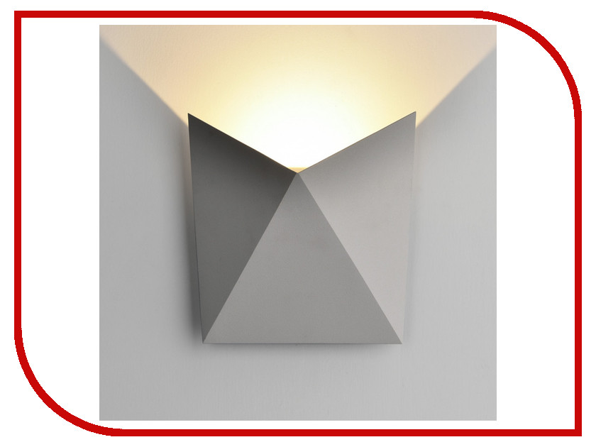Светильник Elektrostandard 1517 Techno Led Batterfly Grey elektrostandard лампа светодиодная elektrostandard свеча на ветру сdw led d 6w 3300k e14 4690389085505