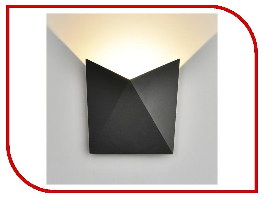 Светильник Elektrostandard 1517 Techno Led Batterfly Black elektrostandard лампа светодиодная elektrostandard свеча на ветру сdw led d 6w 3300k e14 4690389085505