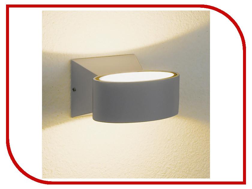 Светильник Elektrostandard 1549 Techno Led Blinc Grey elektrostandard лампа светодиодная elektrostandard свеча на ветру сdw led d 6w 3300k e14 4690389085505