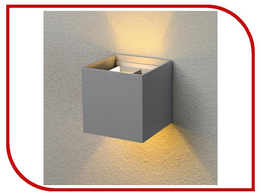 Светильник Elektrostandard 1548 Techno Led Winner Grey elektrostandard лампа светодиодная elektrostandard свеча на ветру сdw led d 6w 3300k e14 4690389085505