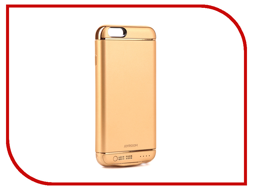 Аксессуар Чехол-аккумулятор для APPLE iPhone 6S JoyRoom Case Battery M124 2500 mAh Gold apple iphone 6s smart battery case charcoal gray