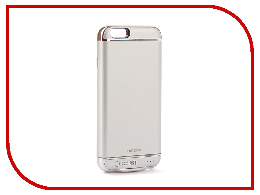 Аксессуар Чехол-аккумулятор JoyRoom Case Battery M124 2500 mAh Silver для APPLE iPhone 6S odoyo чехол аккумулятор odoyo для apple iphone 6 6s 3000mah пластик черный