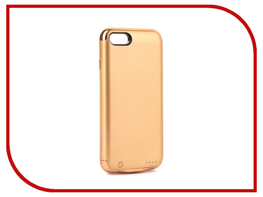 Аксессуар Чехол-аккумулятор JoyRoom Case Battery 2500 mAh Gold для APPLE iPhone 7