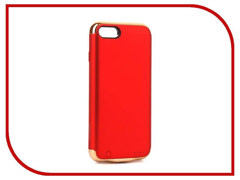 Аксессуар Чехол-аккумулятор JoyRoom Case Battery 2500 mAh Red для APPLE iPhone 7