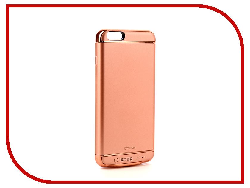 купить Аксессуар Чехол-аккумулятор JoyRoom Case Battery 3500 mAh Rose Gold для APPLE iPhone 6S недорого