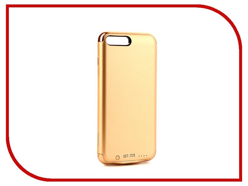 Аксессуар Чехол-аккумулятор JoyRoom Case Battery 3500 mAh Gold для APPLE iPhone 7 Plus
