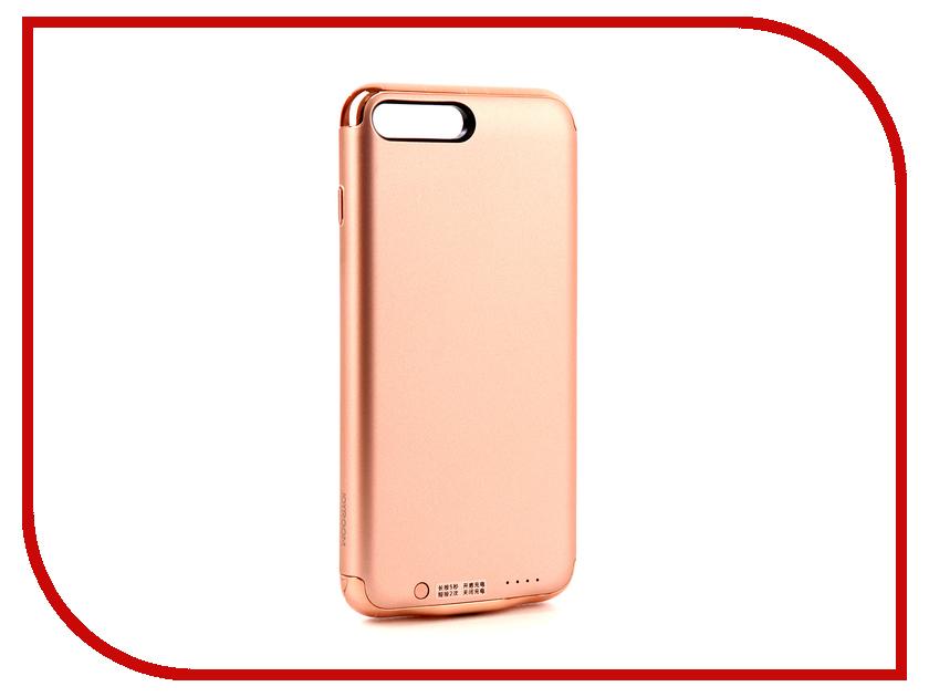 Аксессуар Чехол-аккумулятор JoyRoom Case Battery 3500 mAh Rose Gold для APPLE iPhone 7 Plus