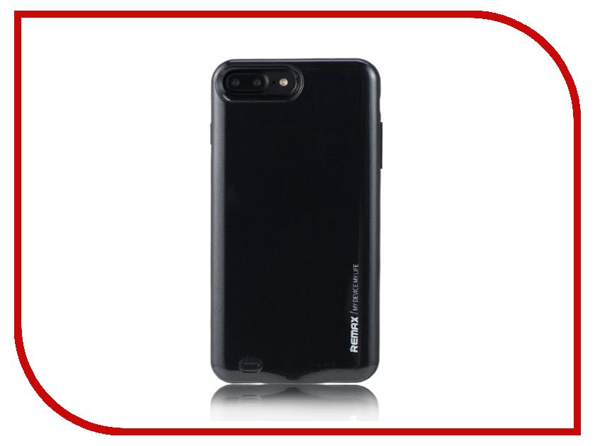 Аксессуар Чехол-аккумулятор Remax Penen Rechargeable PN-02 3400 mAh Black для APPLE iPhone 7 Plus чехлы для телефонов remax чехол силиконовый apple iphone 7 4 7 remax waves синий