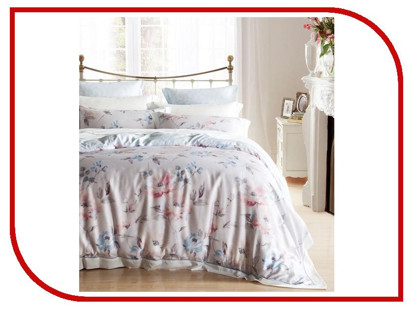 Постельное белье Estro Erminia Комплект Евро Тенсел YGL0176ABP постельное белье estro комплект постельного белья семейный тенсел antonella