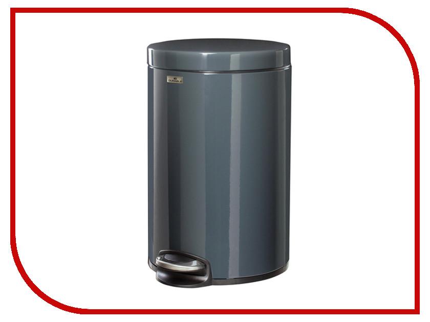 Ведро-контейнер для мусора Durable 12л Dark Grey 3411-58 40 58