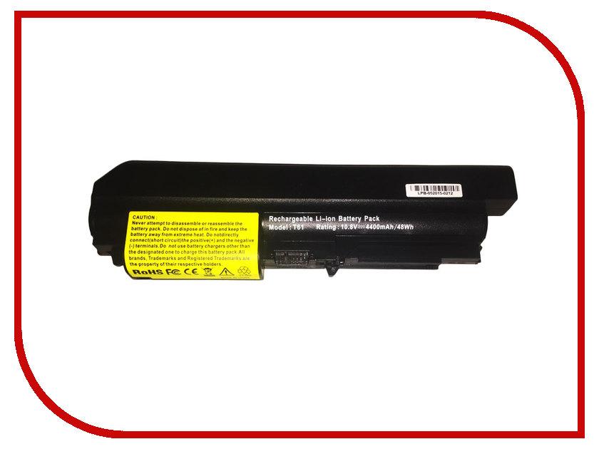 Аккумулятор 4parts LPB-R61i для Lenovo ThinkPad T60/R61e/R61i/T61p/R400/T400 10.8V 4400mAh напильник 203 мм truper lpb 8b 15221