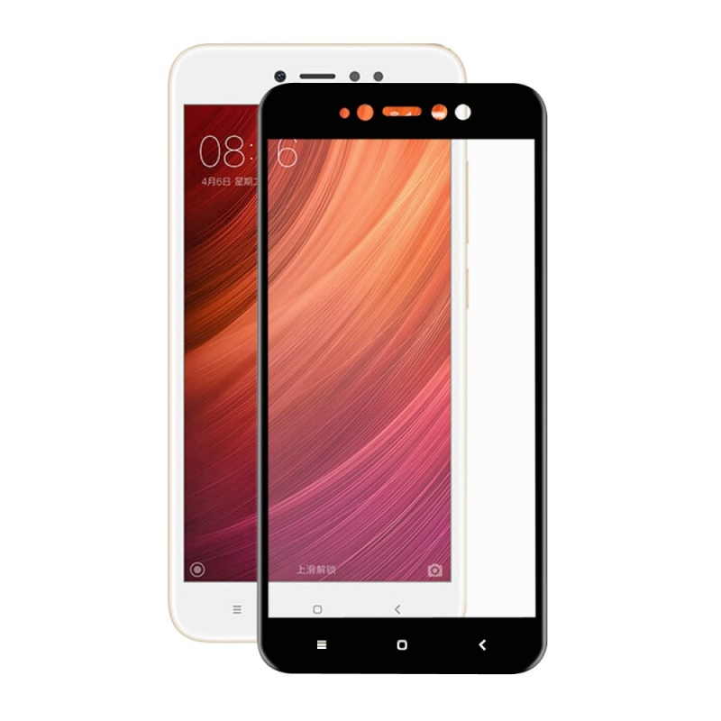 Аксессуар Защитное стекло Media Gadget для Xiaomi Redmi Note 5A 2.5D Full Cover Glass Black Frame MGFCXRN5AFGBK