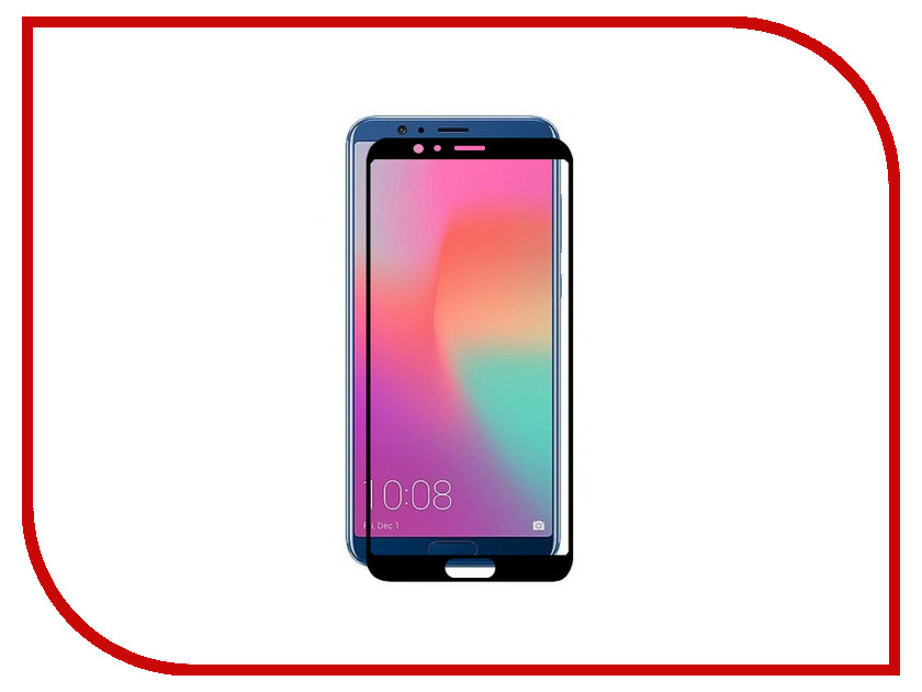 для Huawei MGFCHHV10FGBK  Аксессуар Защитное стекло Huawei Honor V10 Media Gadget 2.5D Full Cover Glass Black Frame MGFCHHV10FGBK