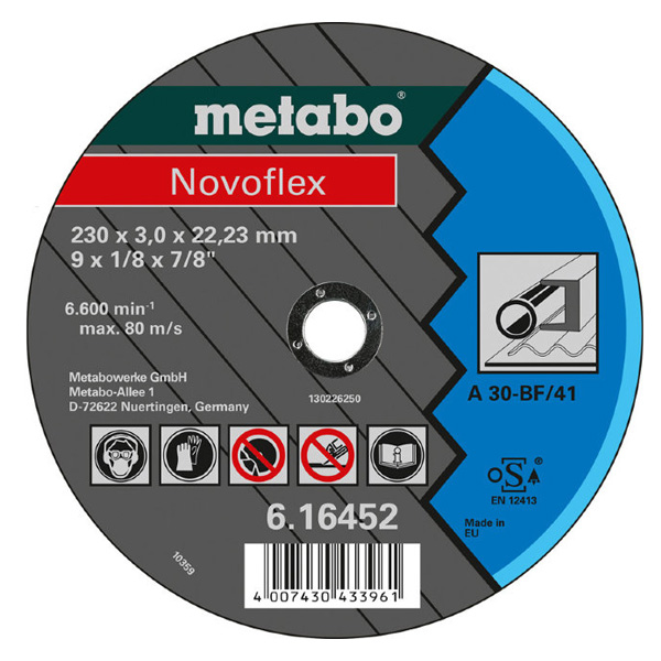 Диск Metabo Novoflex 230x3.0 616452000