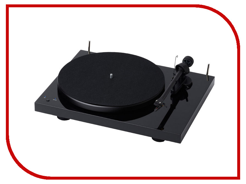 Проигрыватель виниловых дисков Pro-Ject Debut RecordMaster OM-5e Piano Black pro ject debut carbon phono usb dc piano black