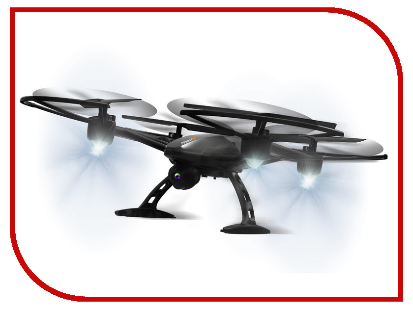 Квадрокоптер 1Toy GYRO-Predator Т10802 Black