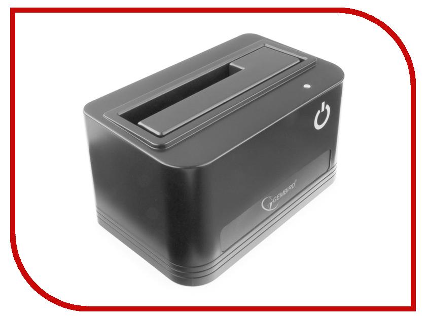 Докстанция Gembird HD32-U2S-4 USB 2.0 SATA Black для 2.5/3.5-inch HDD/SSD usb 3 0 5gbps 3tb 2 5 sata hdd case for desktops laptops silvery grey black