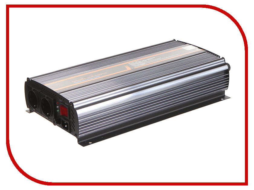 Автоинвертор Энергия Auto Line Plus 1200 С Е0201-0016 с 12В на 220В
