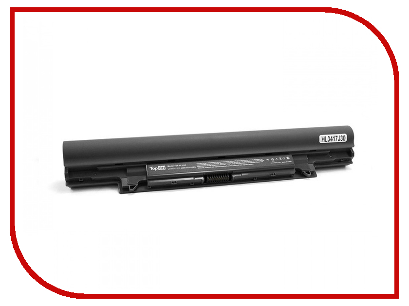 Аккумулятор TopON TOP-DL3340 11.1V 5200mAh для DELL Latitude 3340 аккумулятор topon top k53 для 10 8v 4400mah pn a32 k53 a42 k53 a43ei241sv sl