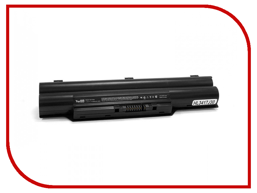 Аккумулятор TopON TOP-FS50 10.8V 4400mAh для Fujitsu FMV-Biblo MG50/MG55/MG57 аккумулятор topon top k53 для 10 8v 4400mah pn a32 k53 a42 k53 a43ei241sv sl
