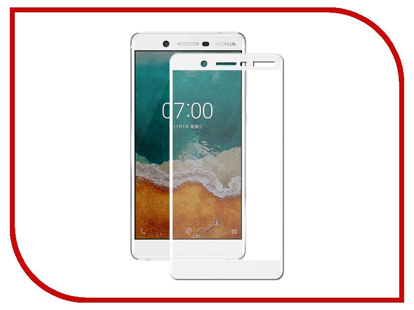 Аксессуар Защитное стекло Nokia 7 Zibelino TG Full Screen 0.33mm 2.5D White ZTG-FS-NK-7-WHT аксессуар защитное стекло huawei nova 2 zibelino tg full screen white 0 33mm 2 5d ztg fs hua nov2 wht