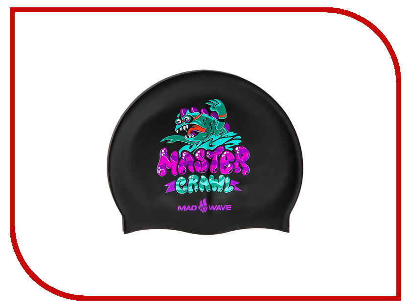 M0576 02 0 00W  Шапочка Mad Wave Master Crawl Multi M0576 02 0 00W