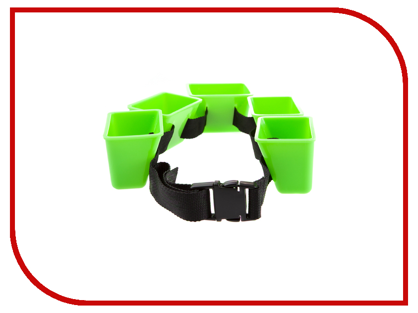 Пояс Mad Wave Break Belt Green M0827 01 0 00W шапочка mad wave submarine cap silicone multi m0573 02 0 00w