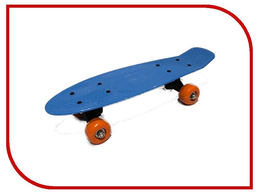 Скейт Indigo LS-P1705 Blue беспроводная акустика interstep sbs 150 funnybunny blue is ls sbs150blu 000b201
