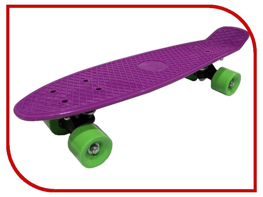 Скейт Indigo LS-P2206-D Purple термобелье верх женский super natural base ls 140 purple