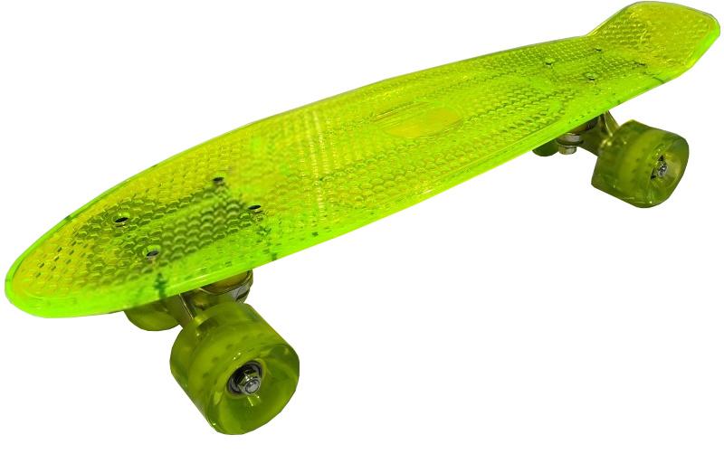 Скейт Indigo LS-PC2206 Green