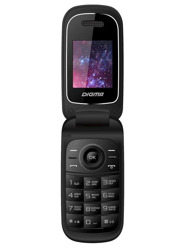 Сотовый телефон Digma Linx A205 2G Black цены онлайн