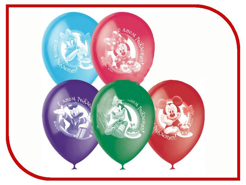 Набор воздушных шаров ПОИСК Дисней С Днем Рождения 30cm 5шт Х-33 4607028762086 поиск авиарейса