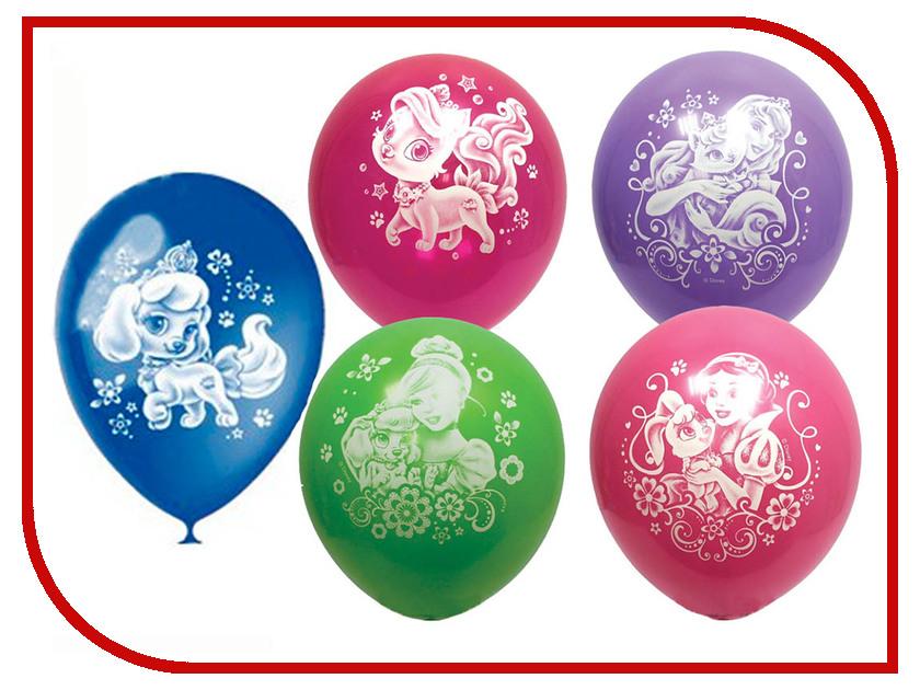 Набор воздушных шаров Поиск Дисней Принцессы 30cm 5шт Х-110 4690296033972 hasbro кукла рапунцель принцессы дисней