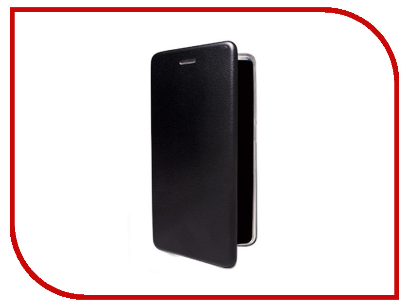 Аксессуар Чехол-флип BQ-5508L Next LTE эко кожа + Silicone Black