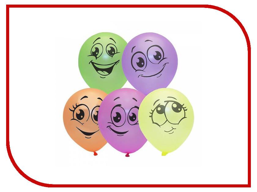 Набор воздушных шаров ПОИСК Улыбки 25cm 10шт 4690296054342 поиск