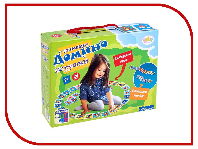 Настольная игра Step Puzzle Домино Игрушки 70119 настольная игра домино step puzzle маша и медведь