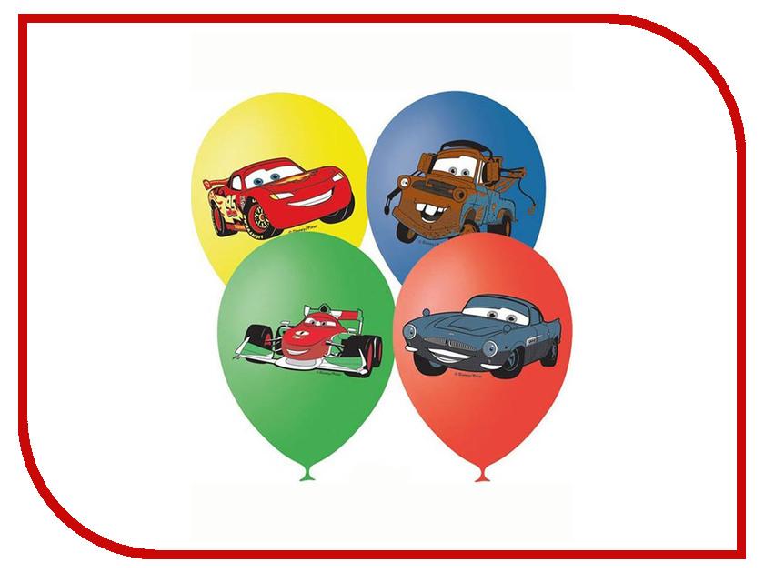 Набор воздушных шаров ПОИСК Дисней Тачки 30cm 5шт Х-96 4690296000066