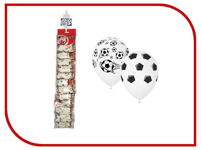 Набор воздушных шаров ПОИСК Футбол 30cm 5шт 4690296054366 поиск авиарейса