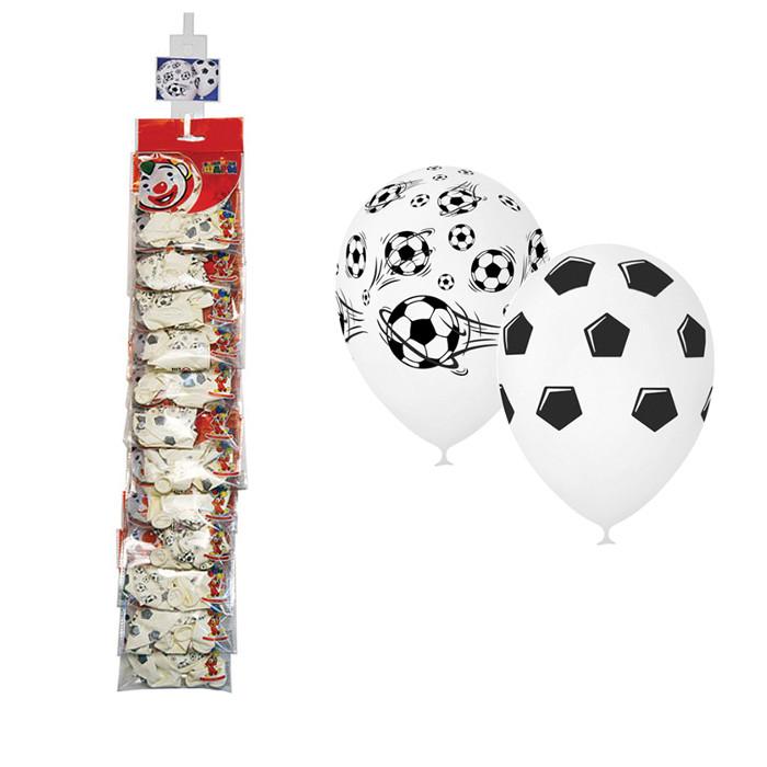 Набор воздушных шаров Поиск Футбол 30cm 5шт 4690296054366