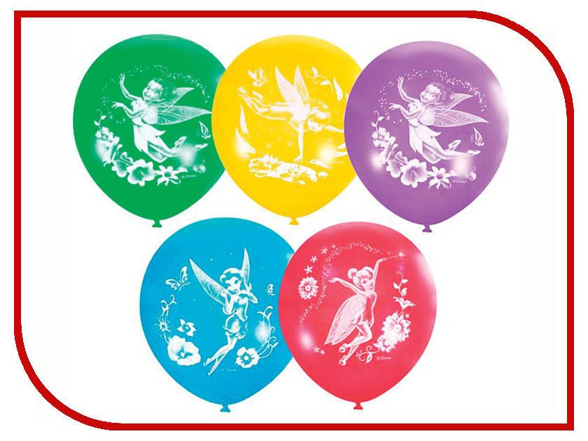 Набор воздушных шаров ПОИСК Дисней Феи 30cm 5шт Х-103 4690296027612 поиск