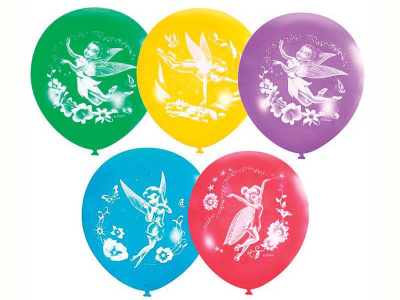 Набор воздушных шаров Поиск Дисней Феи 30cm 5шт Х-103 4690296027612