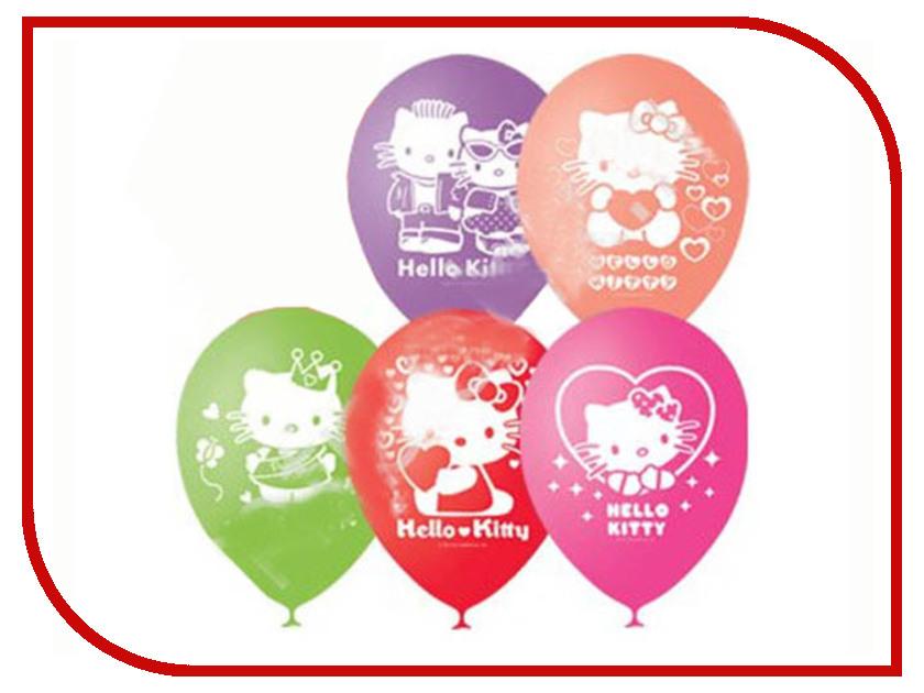 Набор воздушных шаров ПОИСК Hello Kitty 30cm 5шт Х-107 4690296024802 поиск авиарейса