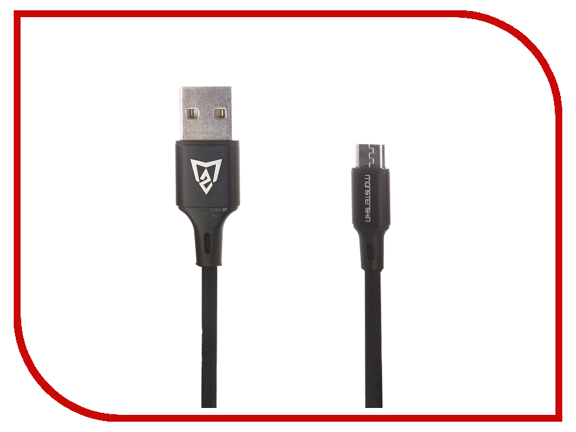 Аксессуар Monsterskin Raptor USB - microUSB 2.0m Black 11390 dvorak czech philharmonic orchestra vaclav neumann new world symphony lp