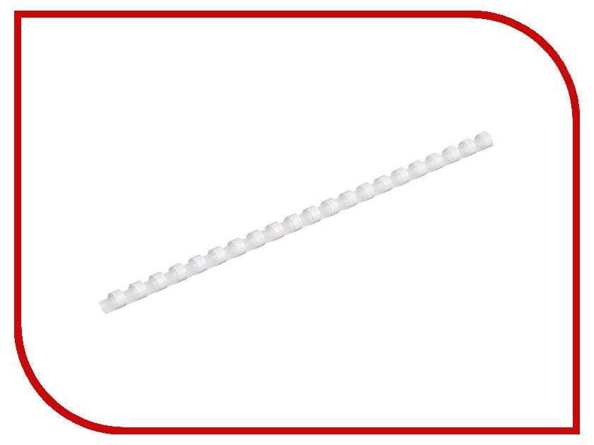 Пружины для переплета ProMega Office 10мм 100шт White 255081