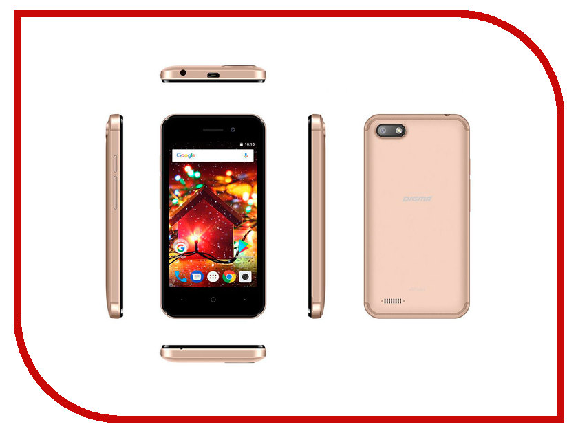 Сотовый телефон Digma HIT Q401 3G Gold glare free screen protector with cleaning cloth for iphone 3g